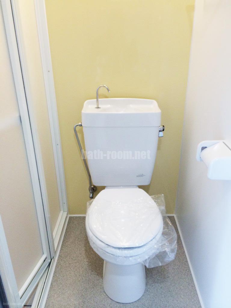 シャワー&パウダーのトイレ