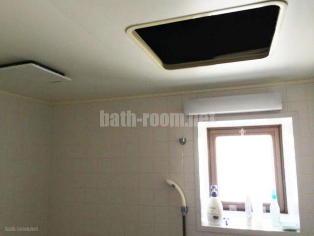 浴室解体前