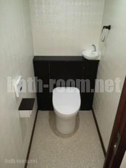 トイレのリフォームも行いました。